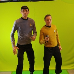 Greenscreen work with Spock Vegas at C4 Winnipeg. (2016)