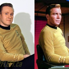 Captain Kirk side-by-side. (2013)