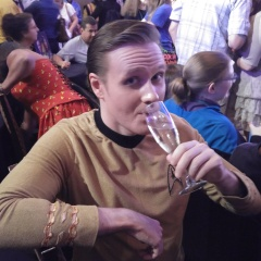 At Rod Roddenberry's 50th Anniversary Toast to the Fans. #STLV #STLV50 (2016)