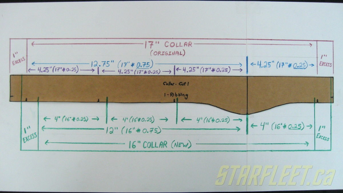 TOS Shirt Collar Formula